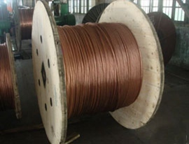 铜包钢绞线2